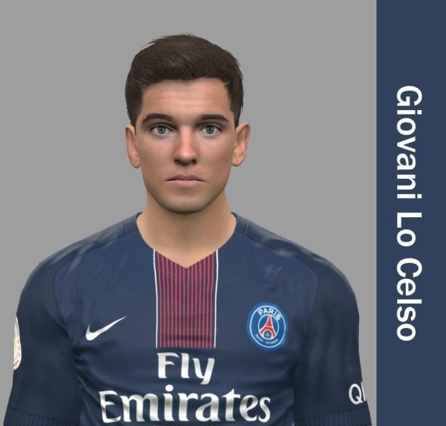 Giovani Lo Celso Face PES 2017