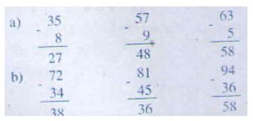 giai bai tap sach giao khoa toan 2 trang 70