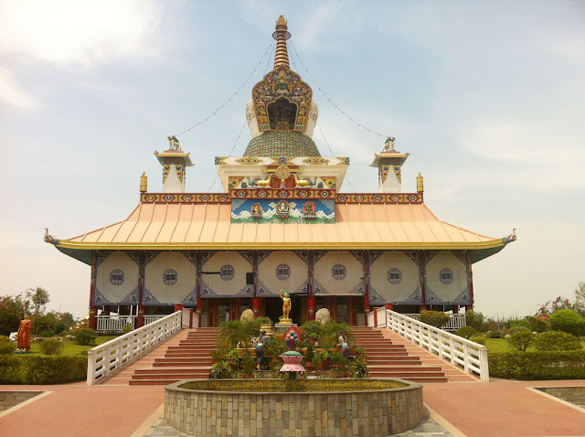 German Temple, German Temple in Nepal, Lumbini's German Temple