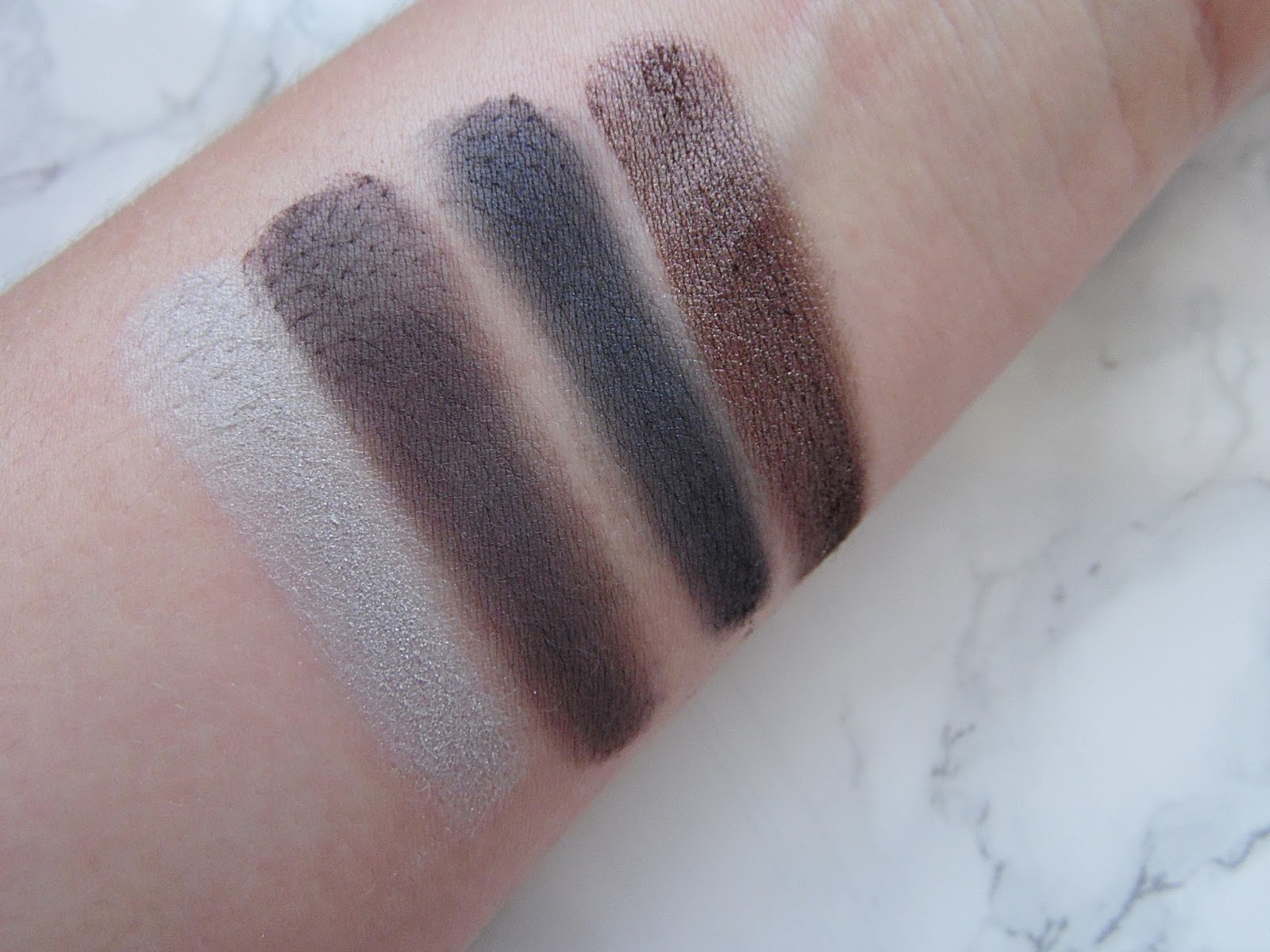 Mary Kay Eyeshadow Swatches