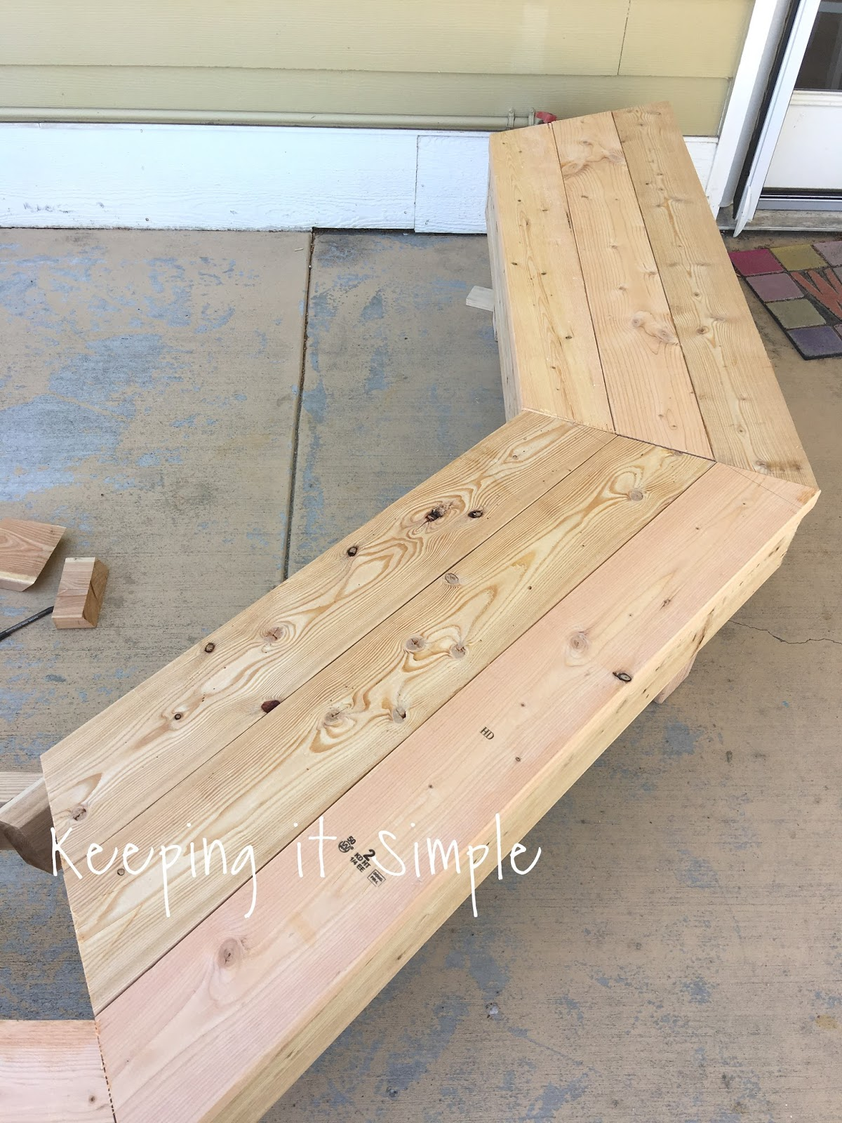 Prime Diy Fire Pit Bench With Step By Step Insructions Keeping Creativecarmelina Interior Chair Design Creativecarmelinacom