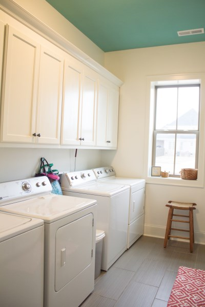 Both Sets Worked Great, And We Didnu0027t Feel Like Choosing Which Set To Keep  And Trying To Get Rid Of The Unwanted Set, So We Designed A Laundry Room To  ...