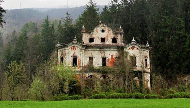 Bí ẩn câu chuyện đằng sau căn nhà hoang đáng sợ nhất nước Ý