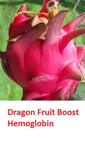 Dragon Fruit Boost Hemoglobin