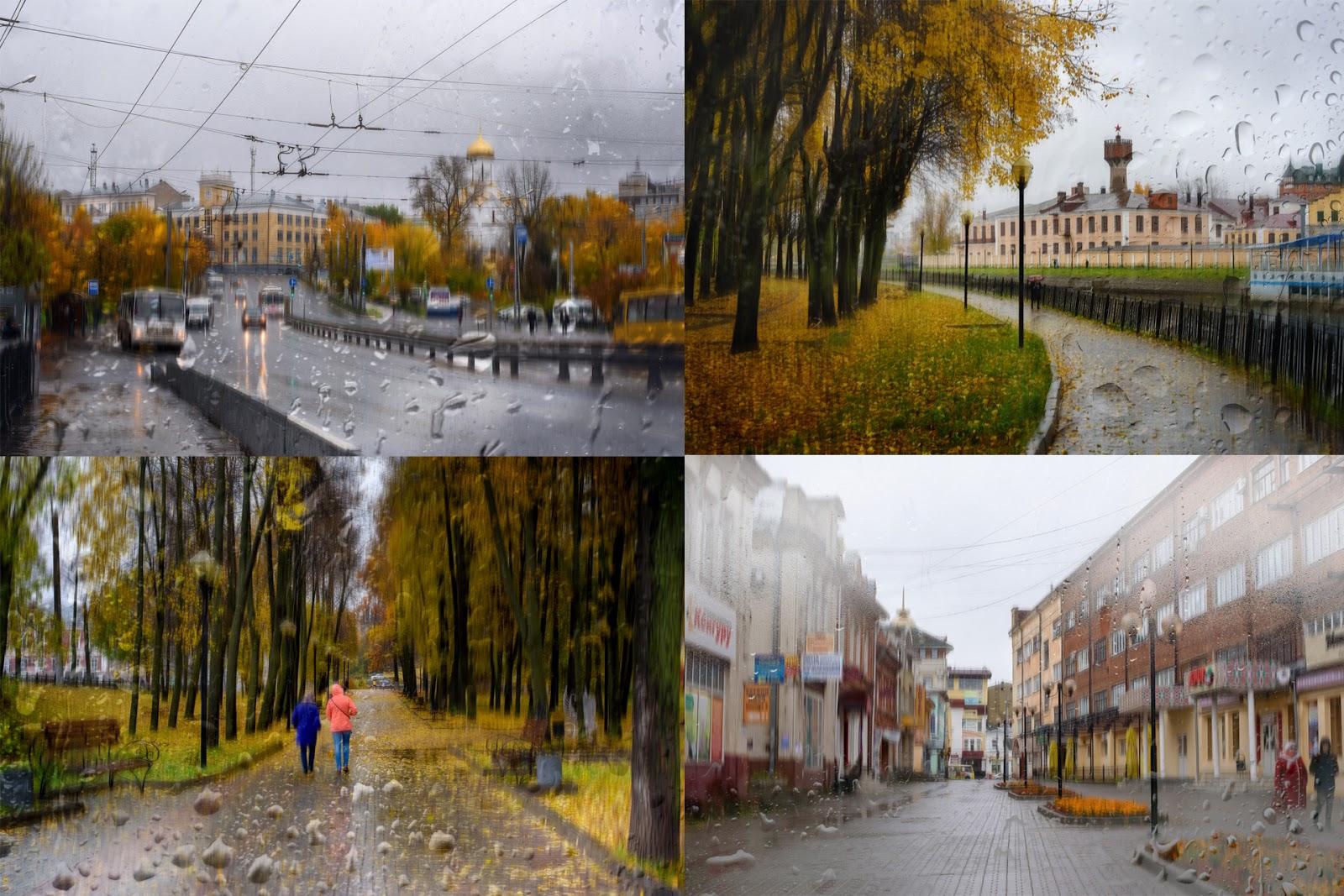 Фотографии Иваново в дождь