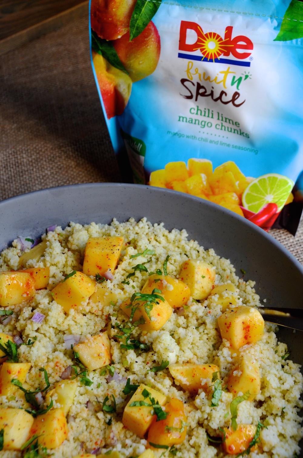 Coconut Mango Couscous Salad Ideas for a Tropical Fall