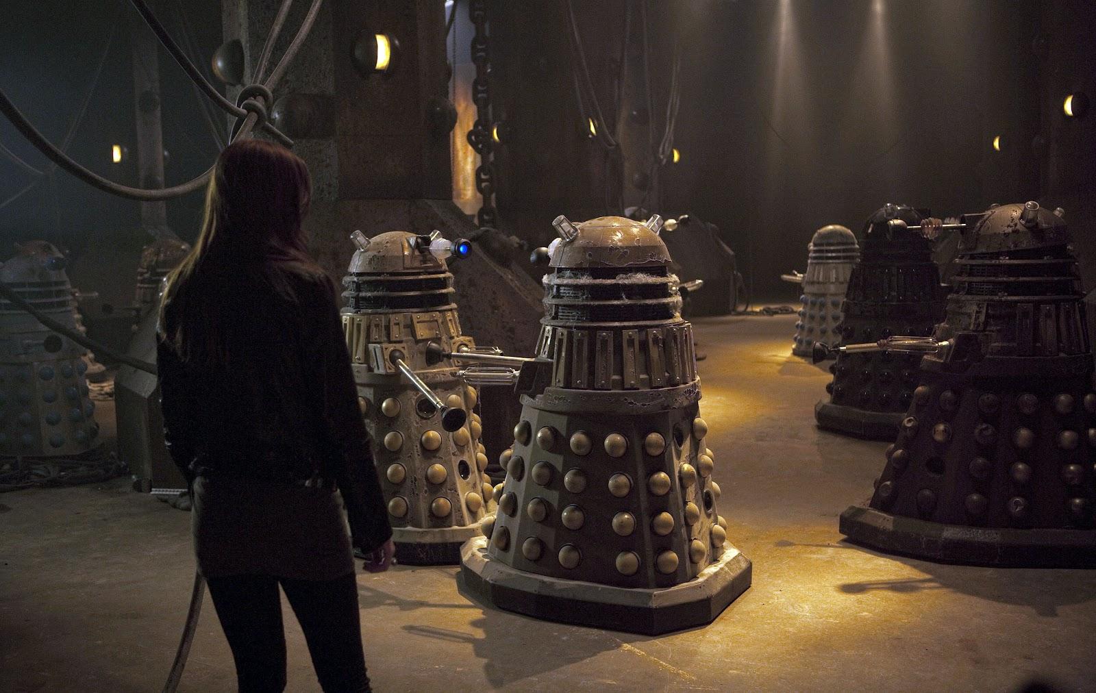Blogtor Who: Asylum of the Daleks promo pics