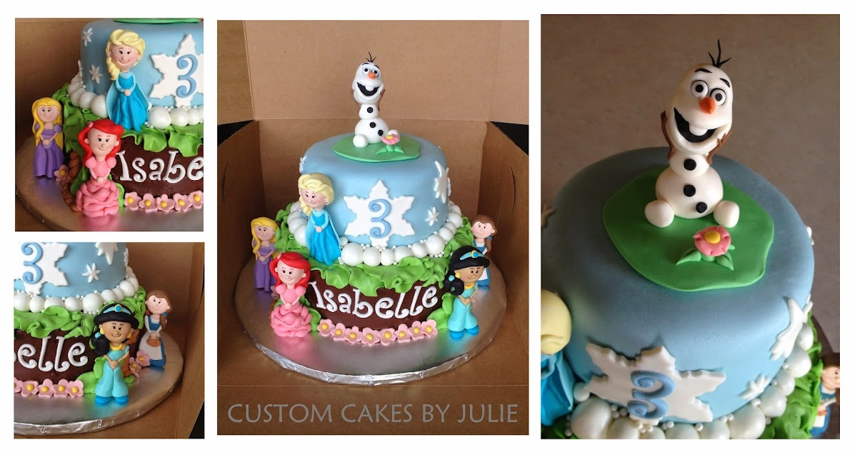 Frozen Cake Topper Malaysia