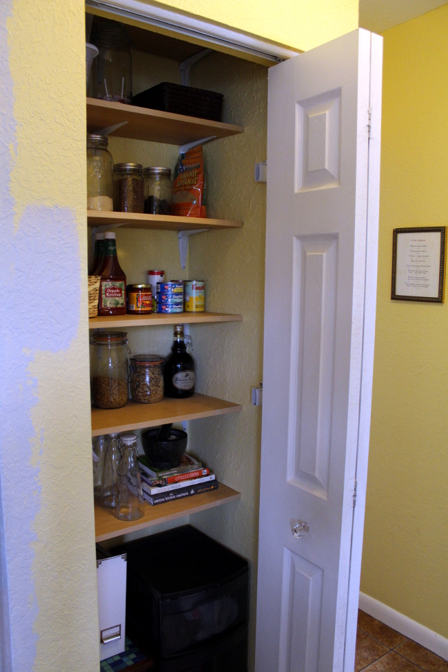 Ordinaire DIY Pantry Shelves