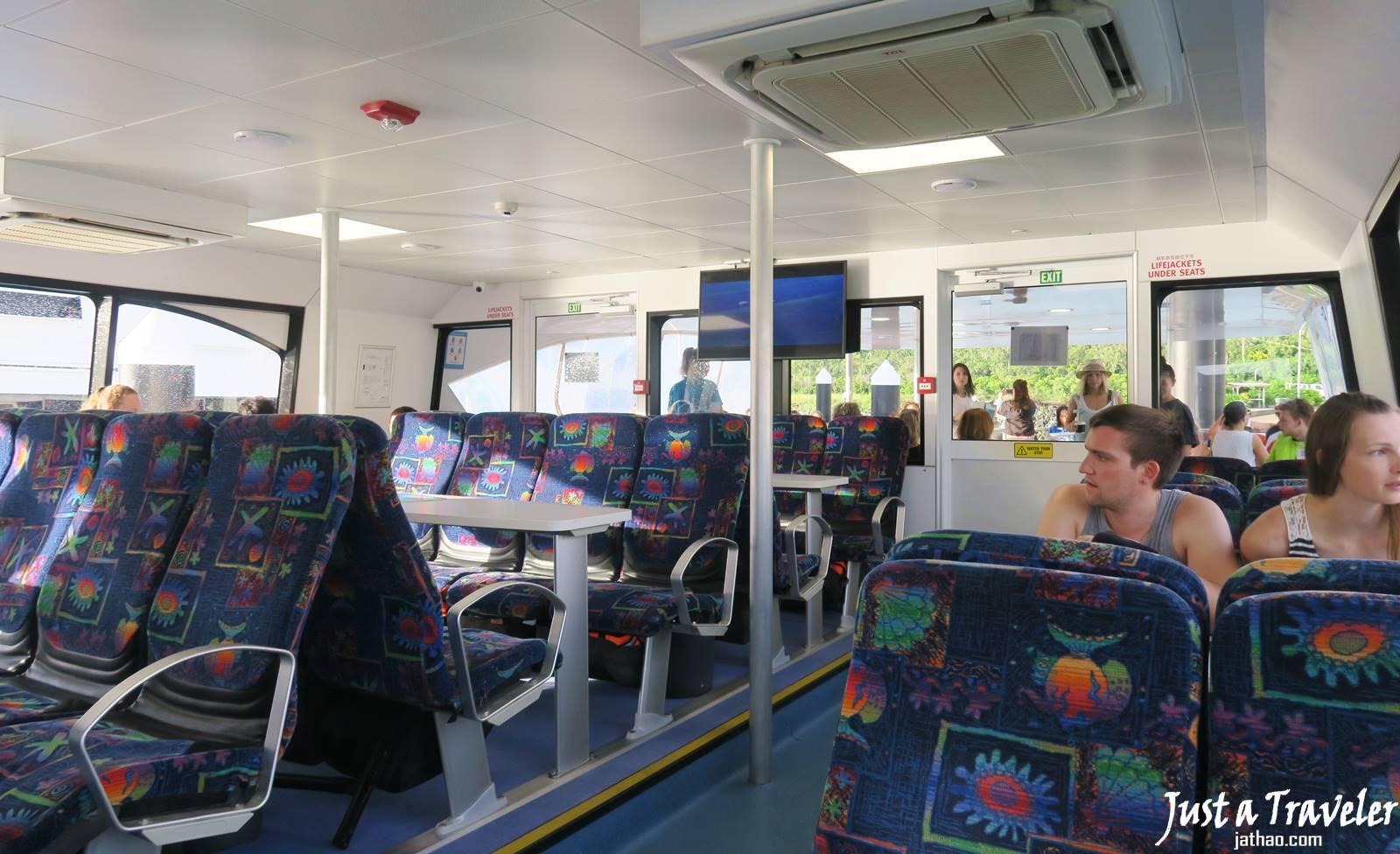 澳洲-聖靈群島-白天堂沙灘-白天堂海灘-景點-推薦-攻略-交通-自由行-遊記-必玩-必去-必遊-行程-一日遊-半日遊-旅遊-Whitsundays-Whitehaven-Beach-渡輪-船