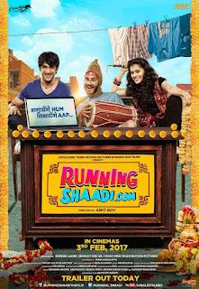 Running Saadi.com Movie First Look Poster