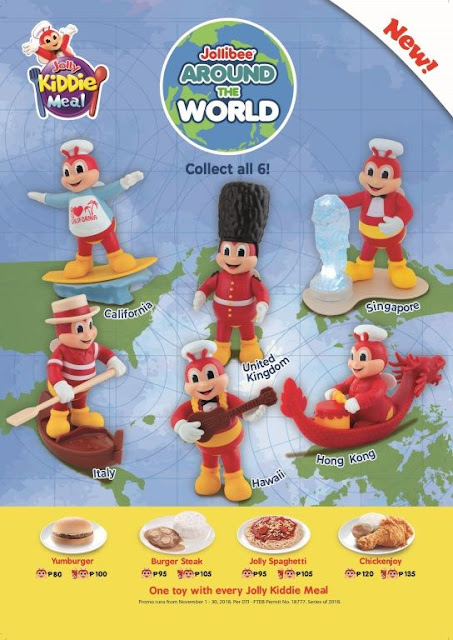 Jollibee Around the World Toys