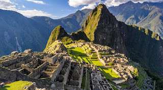 Ruinas de Machu Picchu.