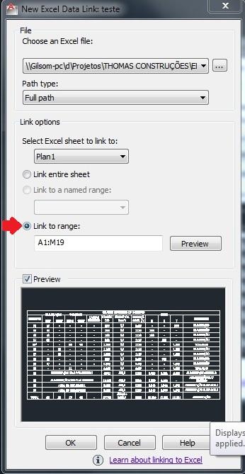 CADBlog: Importar tabela do Excel para o AutoCAD
