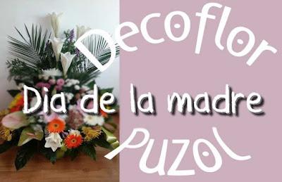 Regalar flores dia de la madre en Puzol