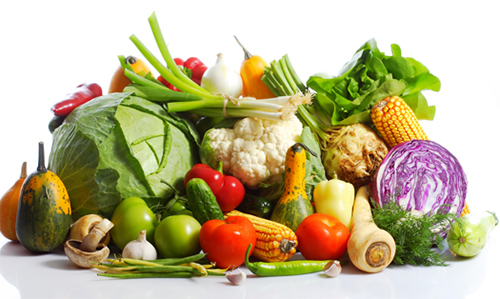 rau củ giảm mỡ bụng