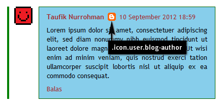Blogger Admin Comments Highlight