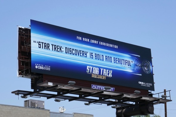 Star Trek Discovery 2018 Emmy FYC billboard