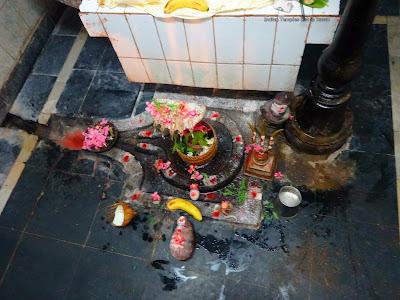 Siva Lingam at Bhavani Shankara Swamy Temple Mundlapadu