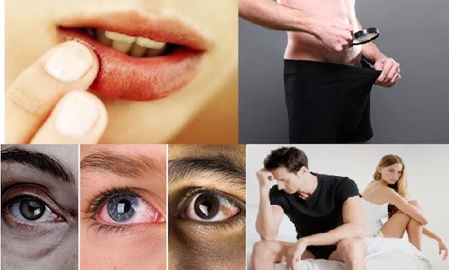Lidhjet e habitshme të buzëve me trurin, syrit me mendjen etj