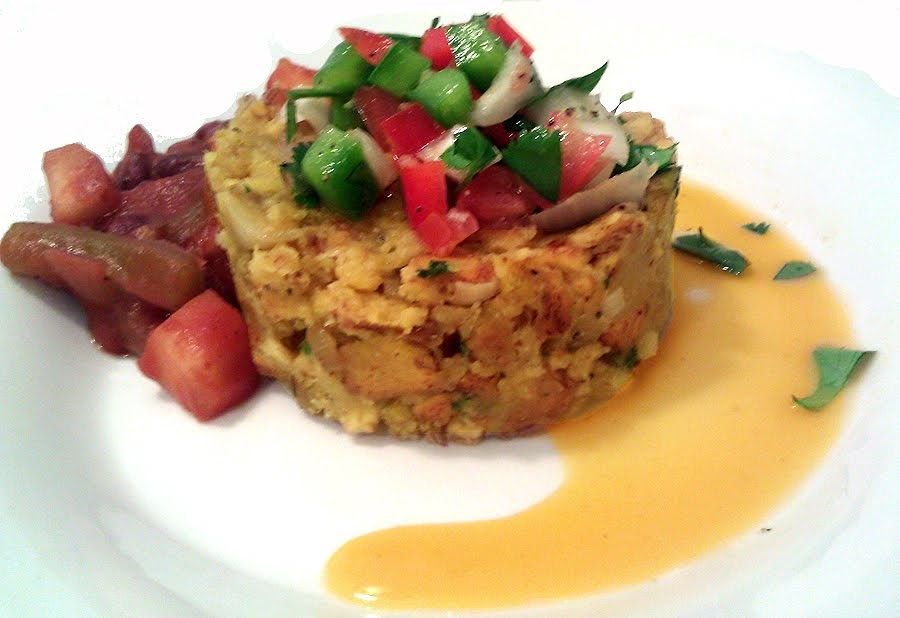 A Profound Hatred of Meat: Mofongo with Stewed Red Beans ...