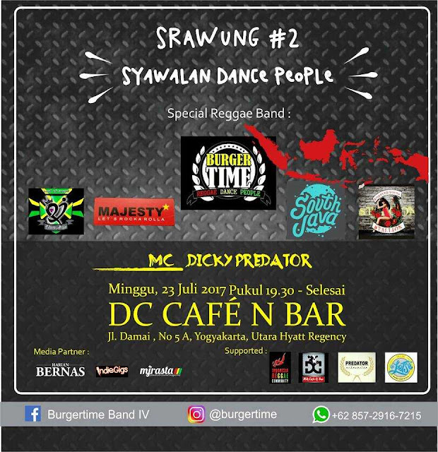 Event Reggae Srawung 2 syawalan dance people