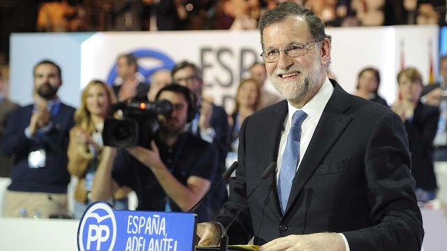 Spanish Prime Minister, Mariano Rajoy re-elected head of his party