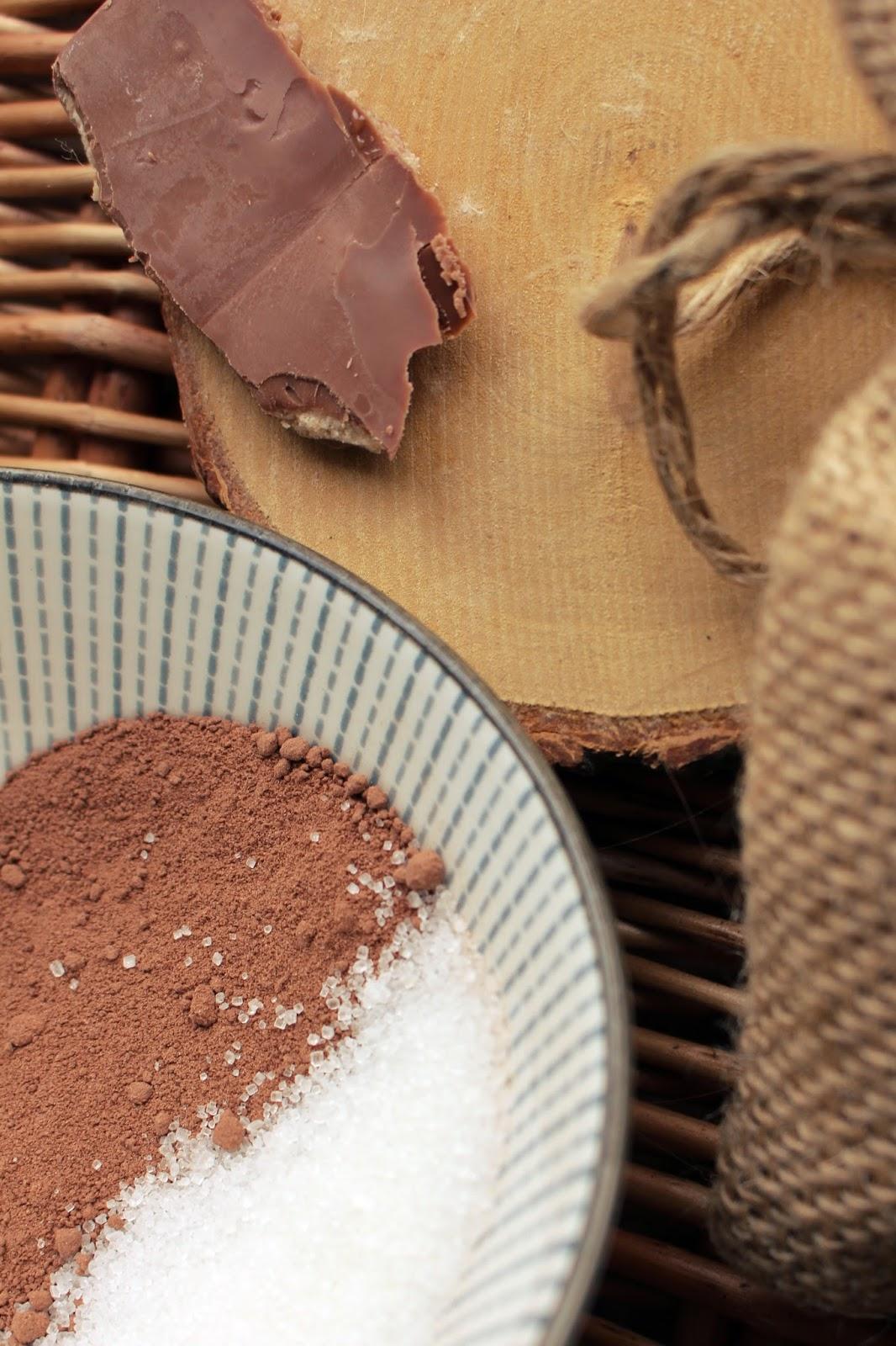 domowy peeling czekoladowy