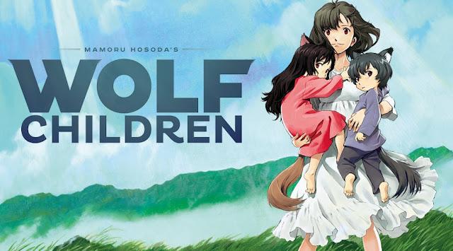 wolf children art 15 Anime Terbaik Berlatar Pedesaan