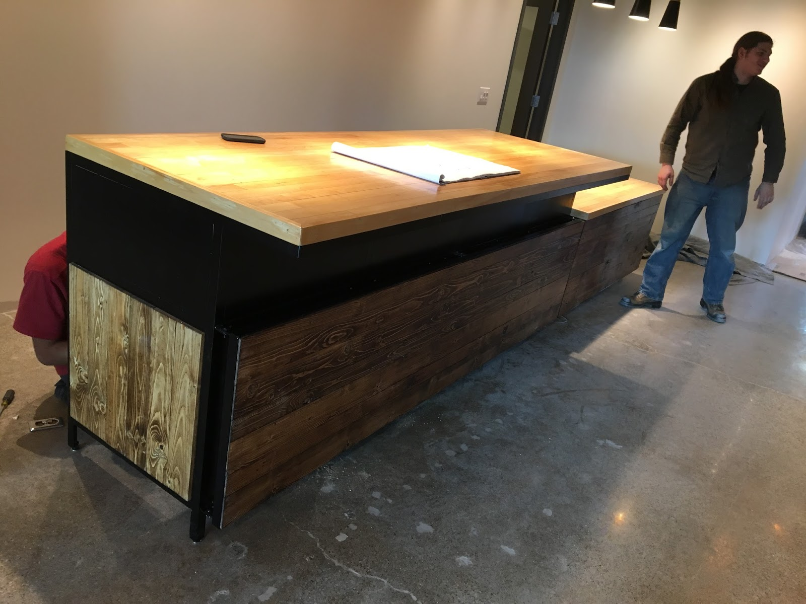 With A Street Level Store Front, We Are Best Known For Harvest Tables That  We Build For Our Walk In Residential Market Clients.