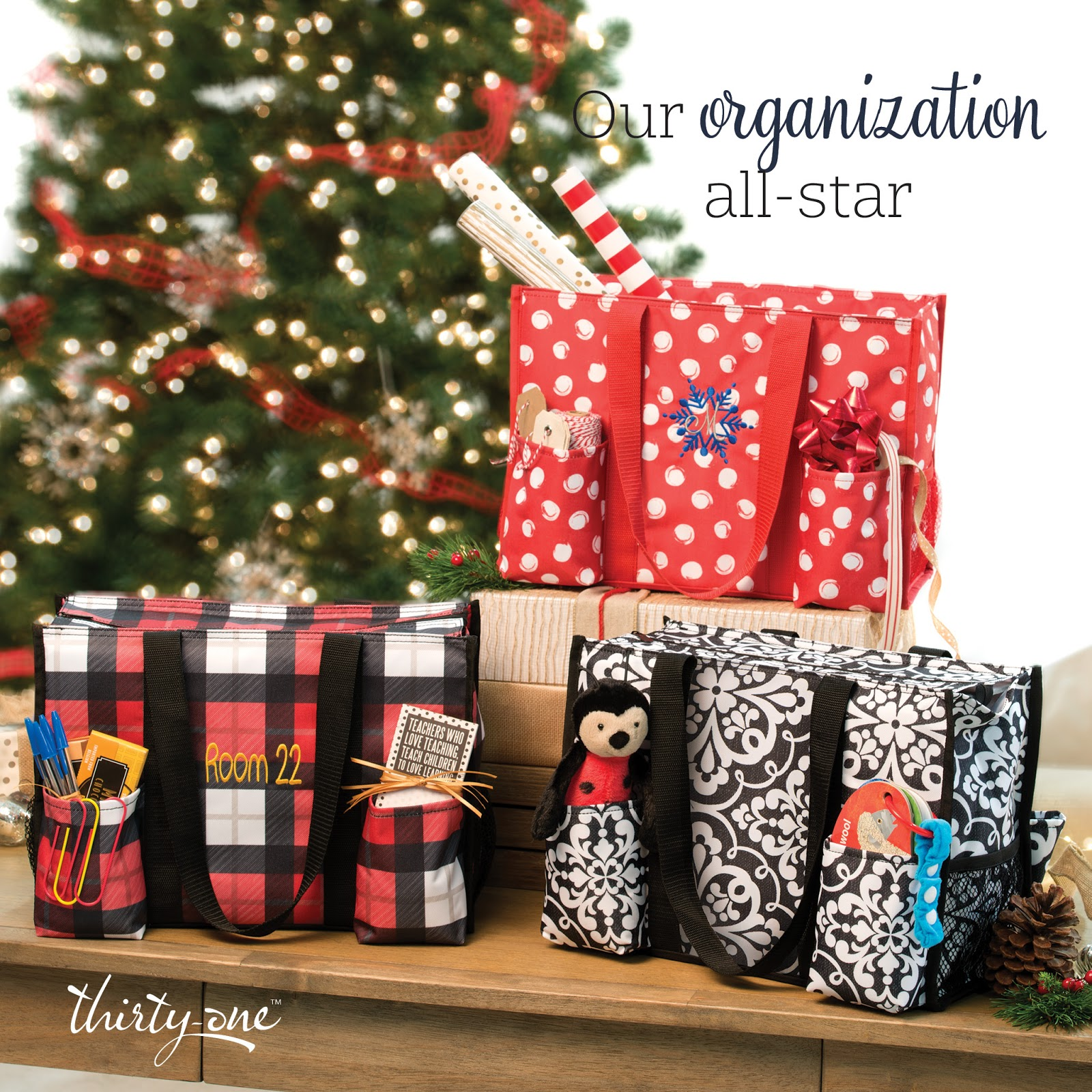 Thirty one november customer special 2014 - Thirty One Gifts November 2016 Customer Special Zip Top Organizing Utility Tote Us