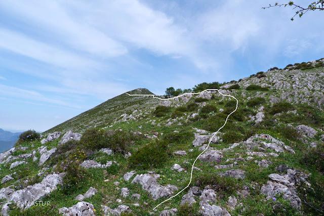 Collao Miradorín y Pico El Cabezu - Sierra de Las Aves