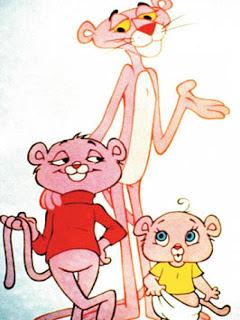 Os Filhos da Pantera cor de rosa