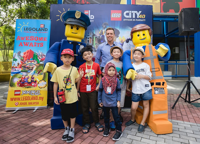 LEGOLAND® Malaysia Resort Launches New Experience With LEGO® City 4D Movie – Officer in Pursuit!