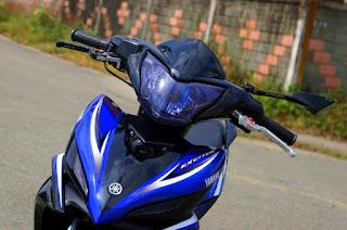 Yamaha Exciter phối màu xanh đen