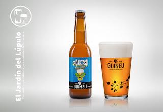 Guineu Dr. Calypso, cerveza sin gluten