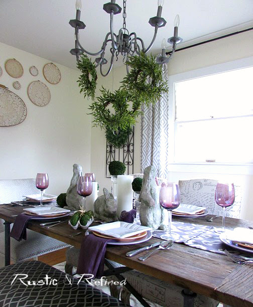 Easter Tablescape 2017