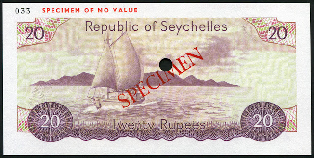 Seychelles money Rupees banknotes images