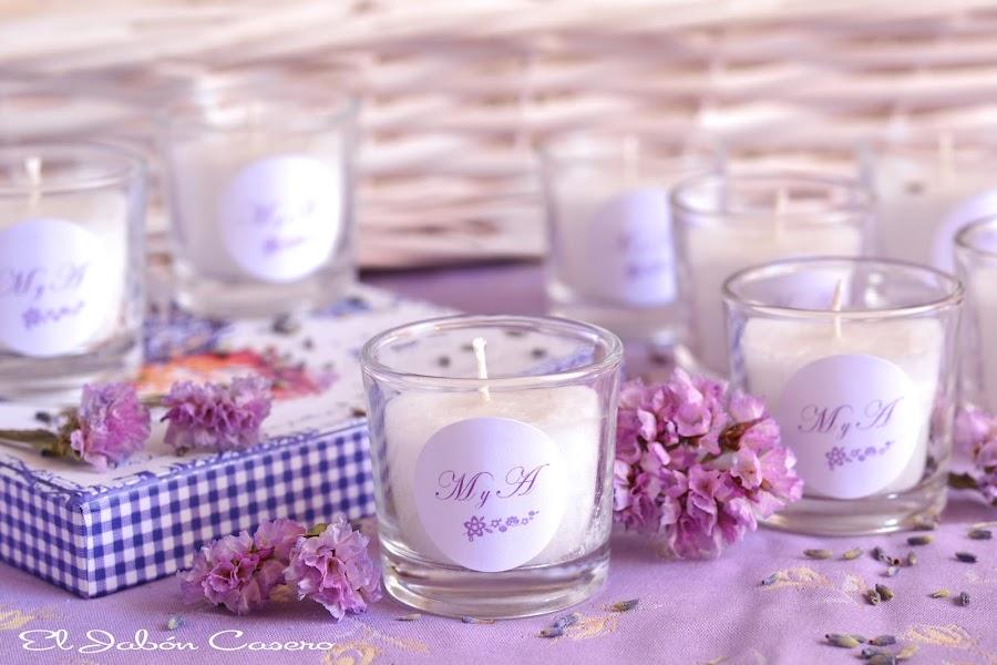 detalles bodas de oro velas aromaticas
