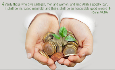 Quranic Verse about Sadaqa