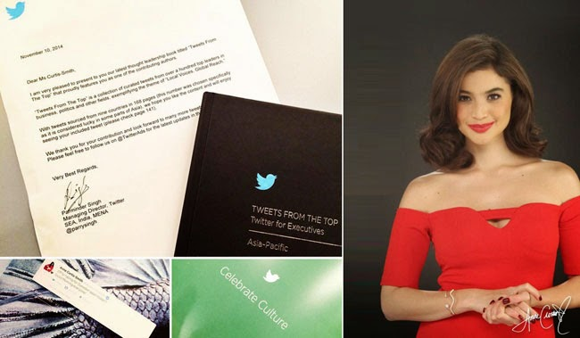 Anne Curtis Included in 'Tweets from the Top' as Director of Twitter Patminder Singh Confirmed