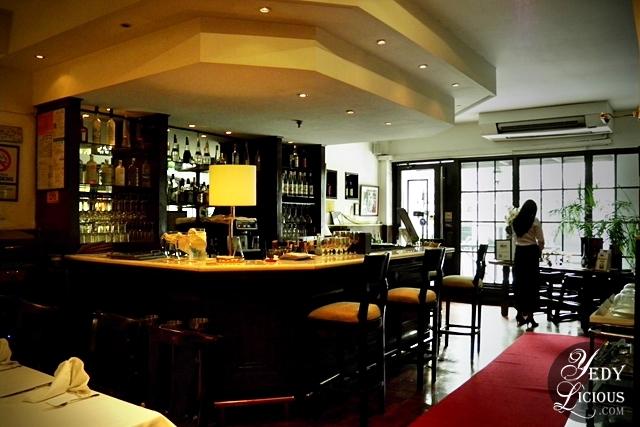 Bar at Cafe Caruso
