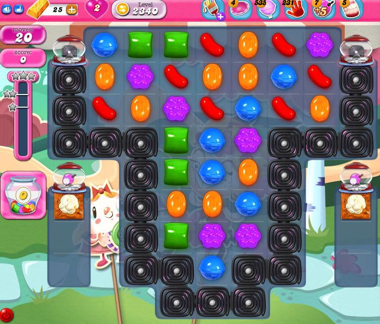 Candy Crush Saga level 2340