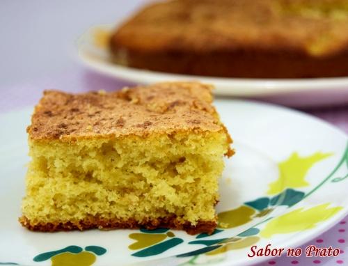 Receita de bolo de maçã super fácil de fazer