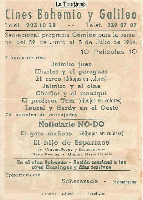 Programa de Cine - Laurel y Hardy en el Oeste - Stan Laurel - Oliver Hardy