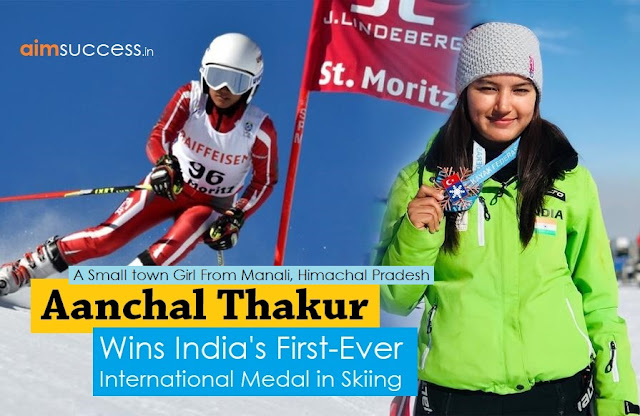 Aanchal Thakur wins India's First-ever International Medal in Skiing