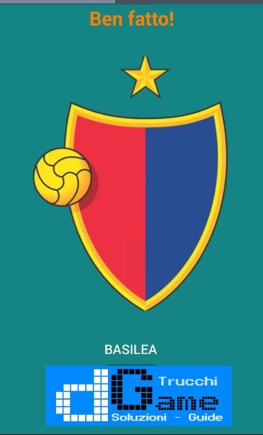 Quiz Squadre di Calcio! soluzione livello 81-90