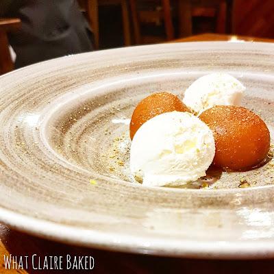 dessert, the dhabba, glasgow
