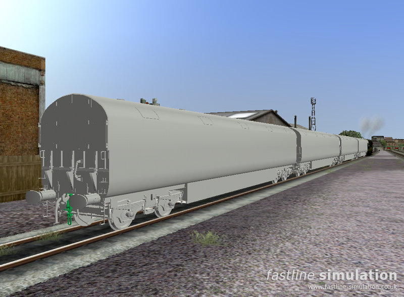 Fastline Simulation: Newton Chambers Car Carrier for RailWorks