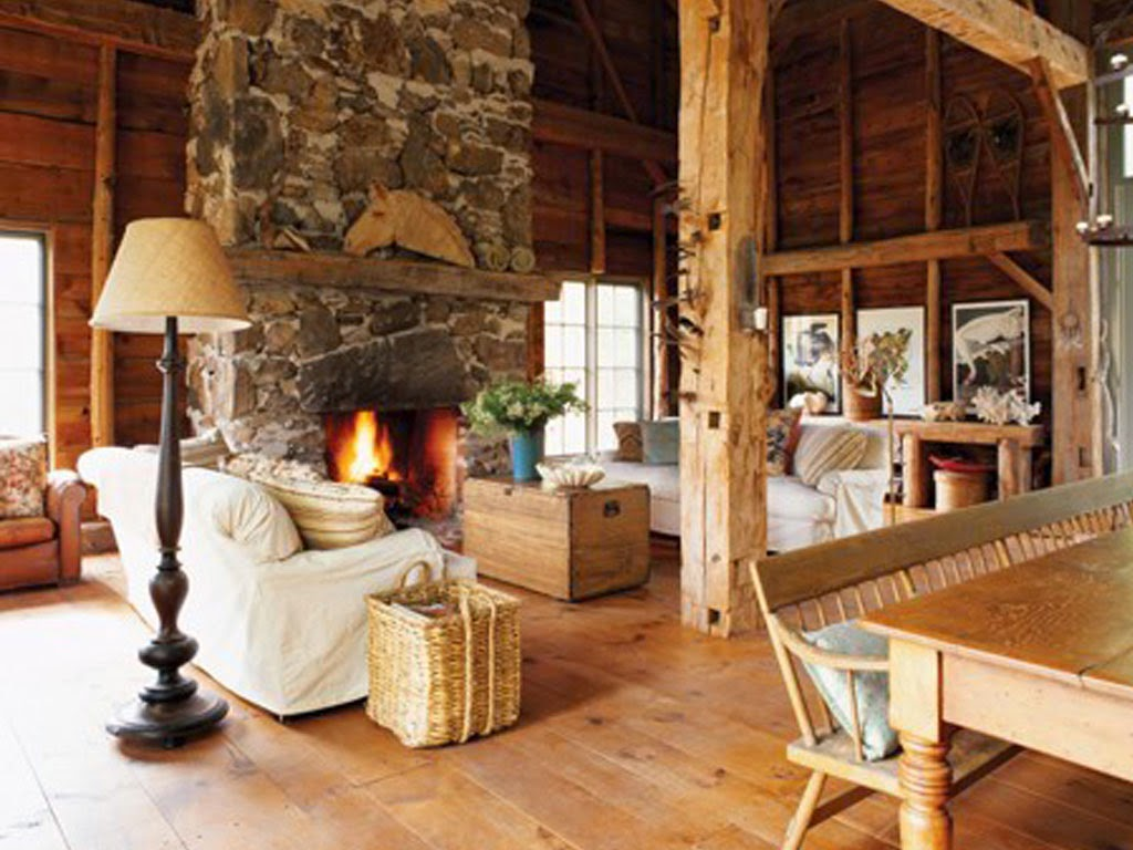 rustic interior design - Rustic Interior Design Ideas